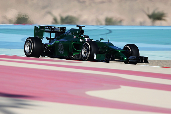 F1 Testing in Bahrain - Day Four Photograph by Mark Thompson