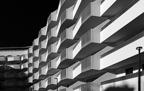 Facade Study L Photograph by Anton Schedlbauer