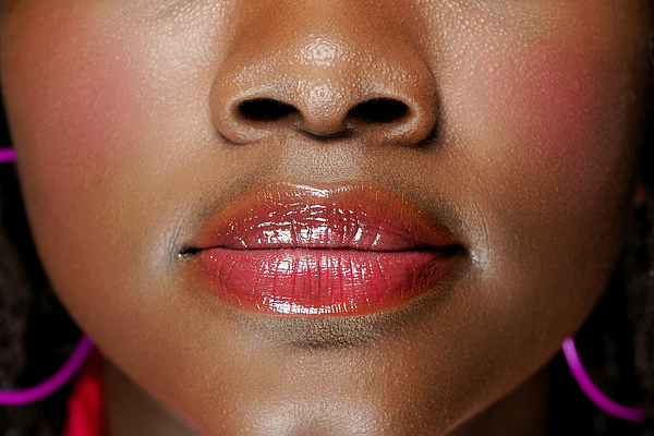 Face Of A Black Woman Photograph by Salimoctober