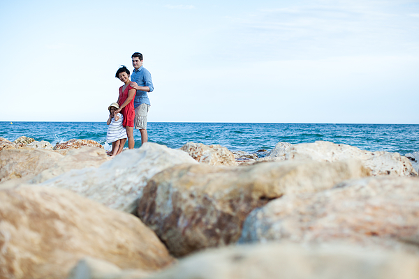 Family at vacation Photograph by Yulkapopkova