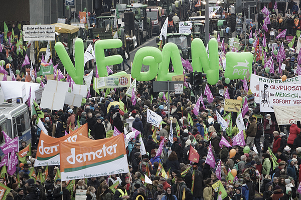 Farmers Protest Against Industrial Agriculture Photograph by Carsten Koall