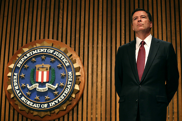 FBI Director Comey Announces Crackdown On Commercial Child Sex Trafficking Photograph by Mark Wilson