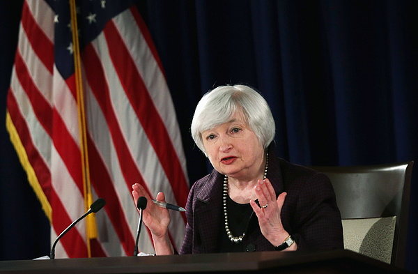 Federal Reserve Chair Janet Yellen Holds News Conference Photograph by Alex Wong