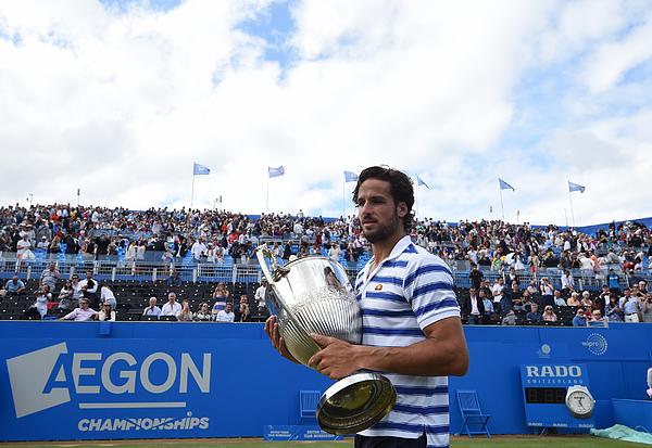 Feliciano Lopez - ATP Aegon Championships Photograph by NurPhoto