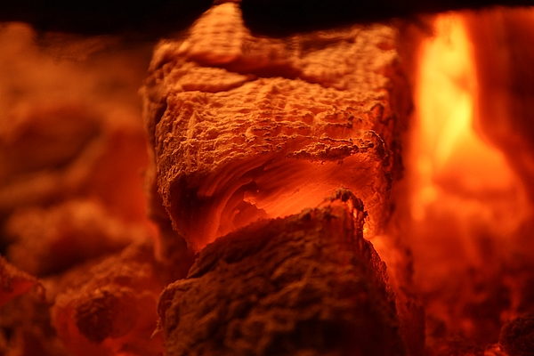 Fire Photograph by The Storygrapher