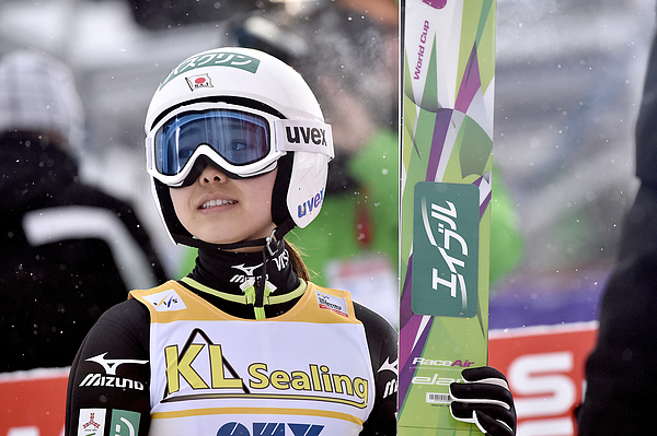 FIS Nordic World Cup - Womens Ski Jumping HS100 Photograph by Vianney Thibaut/Agence Zoom