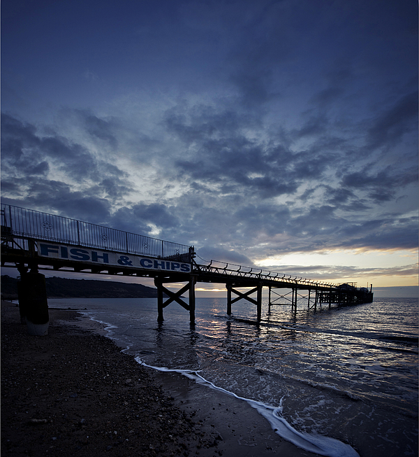 Fish & Chips by the Seaside Photograph by s0ulsurfing - Jason Swain