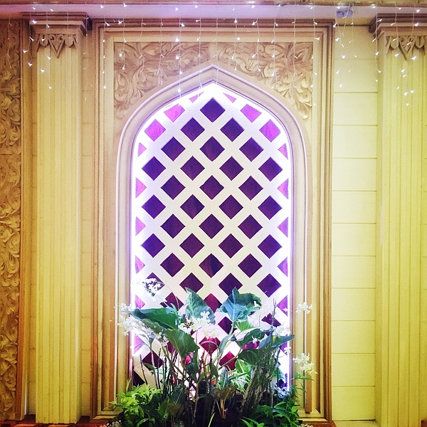 Flower Pot On Window Sill In Illuminated Room Photograph by Rahmat Ismail / EyeEm