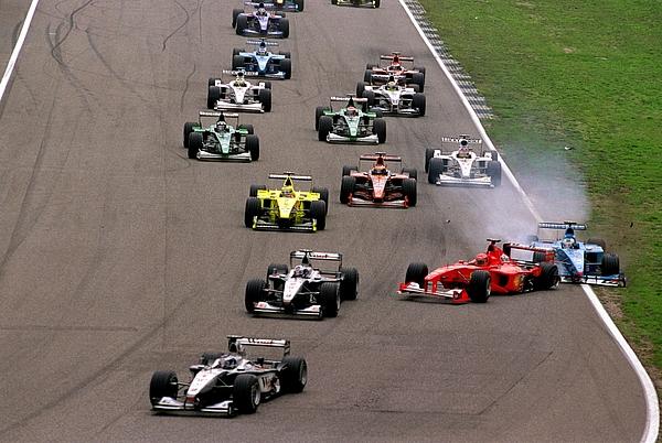 Formula One Motor Racing - German Grand Prix Photograph by John Marsh - EMPICS