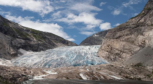 Frozen River Between Mountains Photograph by Paulien Tabak / EyeEm