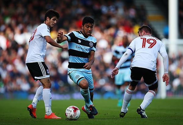 Fulham v Queens Park Rangers - Sky Bet Championship Photograph by Jordan Mansfield