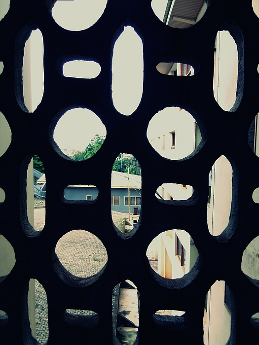 Full Frame Shot Of Pattern Window Photograph by Mariana Guedes / EyeEm