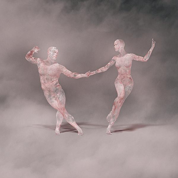 Futuristic couple dancing Photograph by Donald Iain Smith