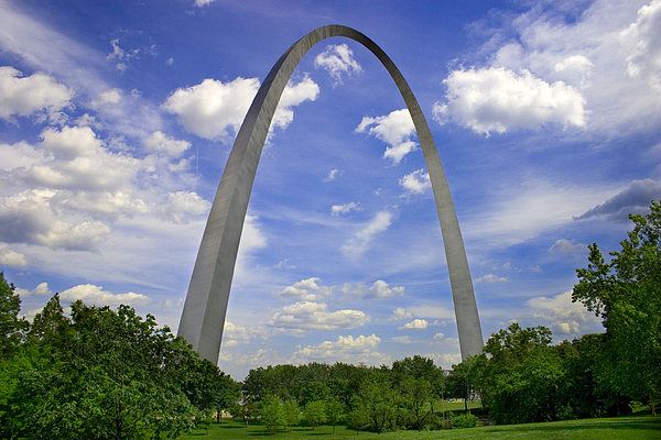 Gateway Arch Photograph by Phil Bolles