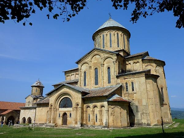 Gelati monastery in Georgia Photograph by Frans Sellies