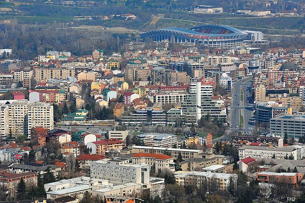 General Economic Images From Macedonias Capital City Photograph by Bloomberg