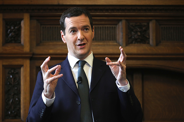 George Osborne Meets With The Manchester Chamber Of Commerce Photograph by Christopher Furlong