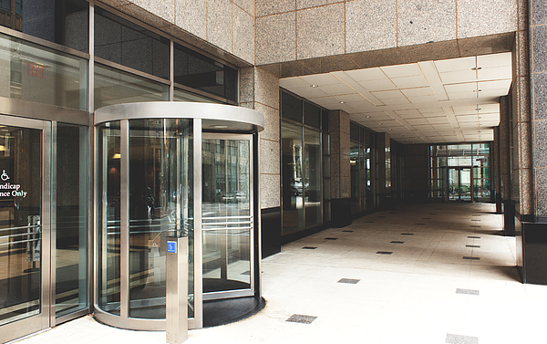 Glass Doors Of Building Photograph by Rob Heber / EyeEm