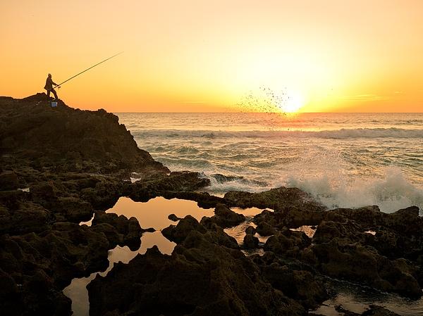 Gone Fishing... Photograph by Bernd Schunack
