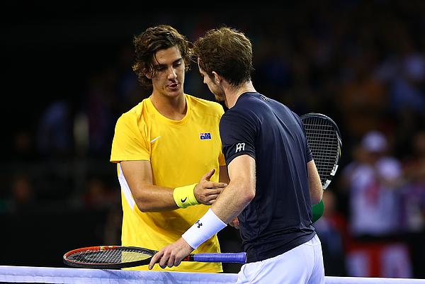Great Britain v Australia Davis Cup Semi Final 2015 - Day 1 Photograph by Jordan Mansfield