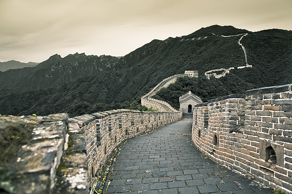 Great Wall of China. Photograph by Merten Snijders