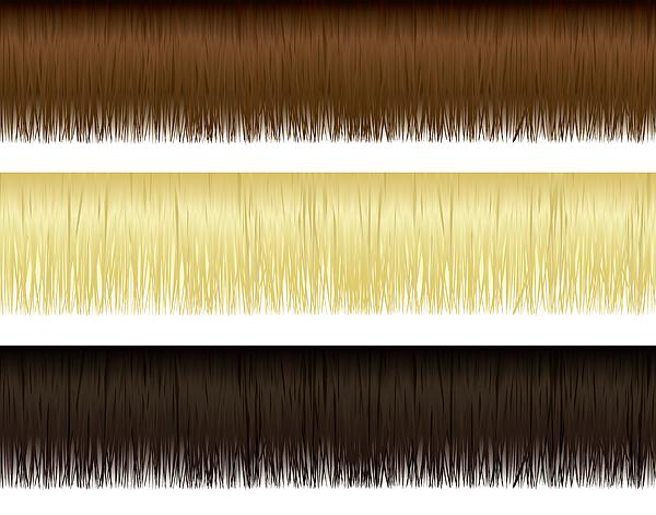 Hair Borders Drawing by Logorilla