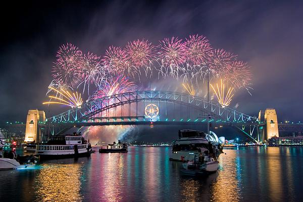 Happy New Years! Photograph by David Yu