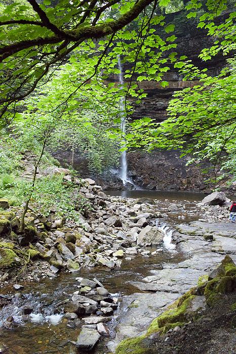 Hardrew Force waterfall Photograph by Heidi Coppock-Beard