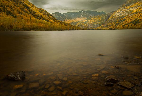 Hautes gorges riviere Malbaie DRI Photograph by Jean Surprenant