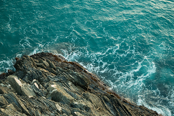 High Angle View Of Rock In Sea Photograph by Yan Tung Fung / EyeEm