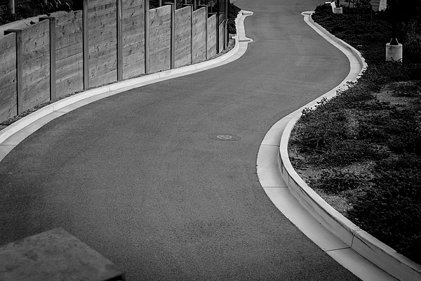 High Angle View Of Winding Road Photograph by Jesse Coleman / EyeEm