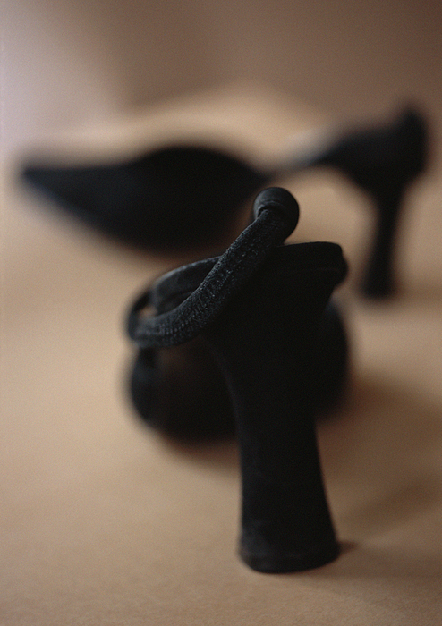 High-heeled shoes, close-up, blurred Photograph by Michele Constantini