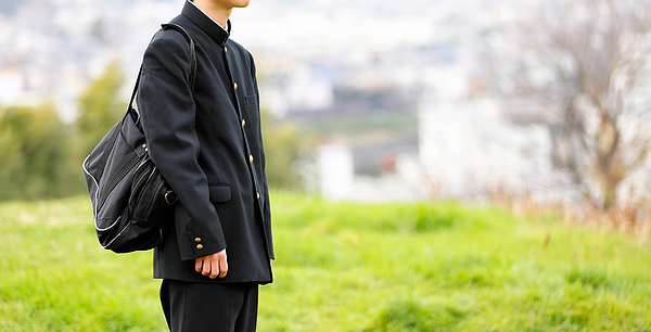 High school student in uniform Photograph by Taka4332