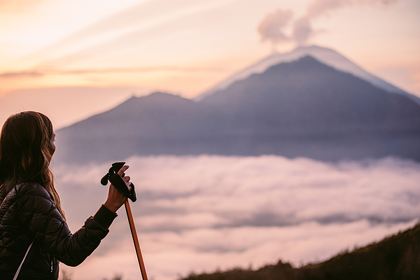 Hiker Photograph by South_agency