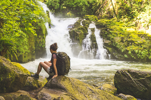 Hiking In The Pacific Northwest Photograph by FatCamera