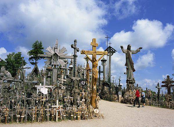 Hill of Crosses, Siauliai, Lithuania Photograph by Dallas and John Heaton