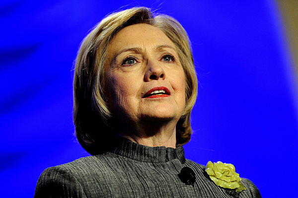 Hillary Clinton Addresses National Council for Behavioral Health Conference Photograph by Patrick Smith