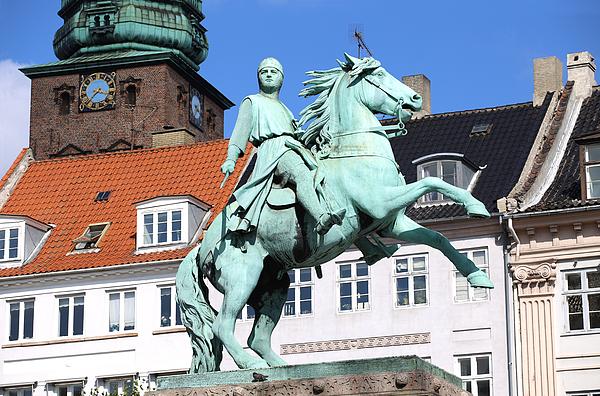 Hojbro Plads Square, Copenhagen, Denmark Photograph by Vladacanon