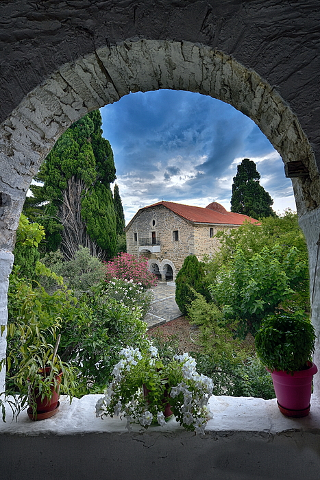 Holy Monastery of Annunciation Island (Ancient) Trikeri Photograph by Photo By Dimitrios Tilis