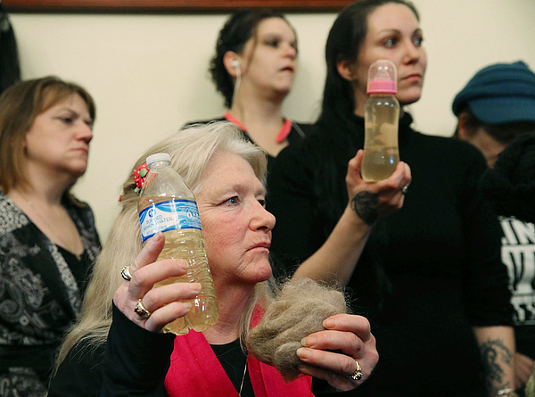House Committee Holds Hearing On Flint Water Contamination Photograph by Mark Wilson