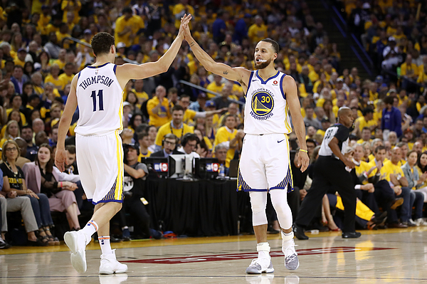 Houston Rockets V Golden State Warriors - Game Three Photograph by Ezra Shaw