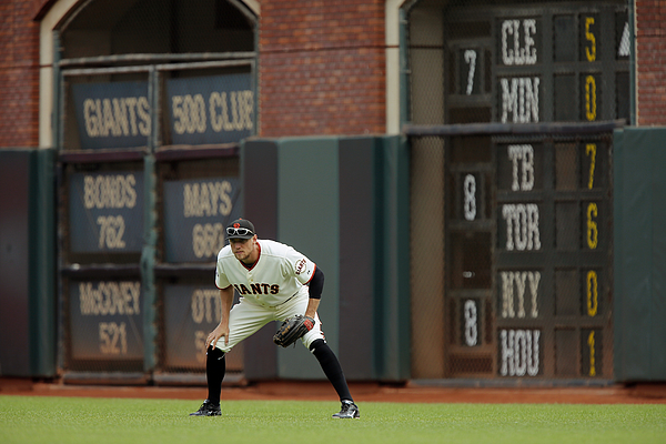 Hunter Pence Photograph by Brian Bahr