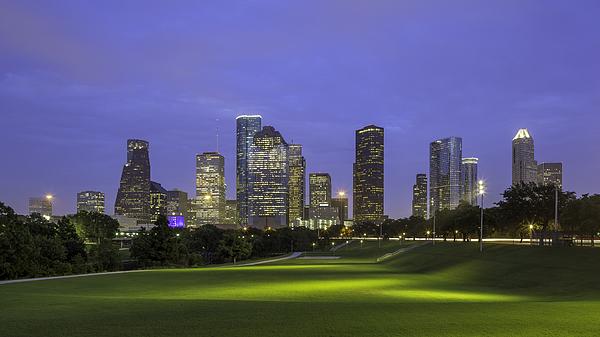 I Am Houston Skyline Photograph by Mabry Campbell