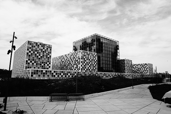ICC Building in Black and White, the Hague, the Netherlands Photograph by Sebastiaan Kroes