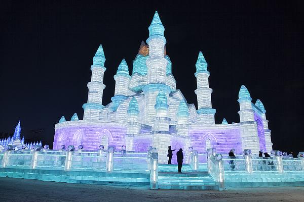 Ice and Snow World, Harbin, China Photograph by LeonU