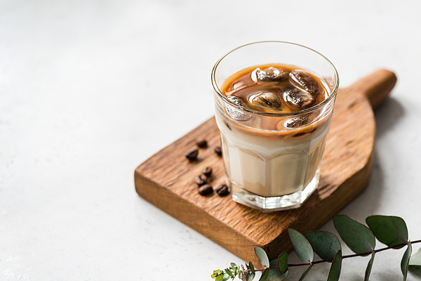 Ice Cold Coffee In Glass Photograph by Arx0nt