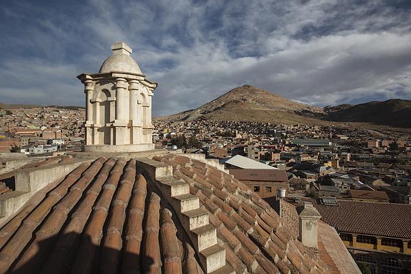 Iglesia de San Lorenzo de Carangas, Potosi, Bolivia, South America Photograph by Alex Saberi/robertharding