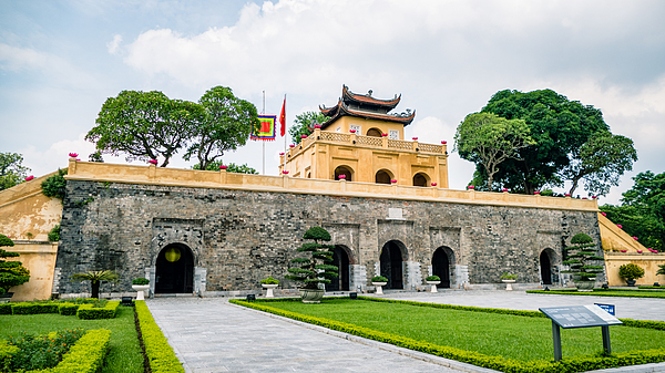 Imperial Palace Hanoi Vietnam Tourist attraction Photograph by Craig Hastings