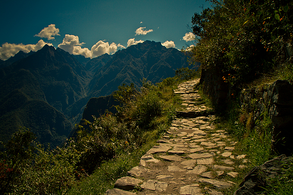 Inca Trail Photograph by Ruben Senor is a traveler, writer, director and photographer