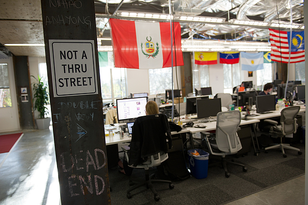 Inside Facebooks New Menlo Park Campus Photograph by Bloomberg